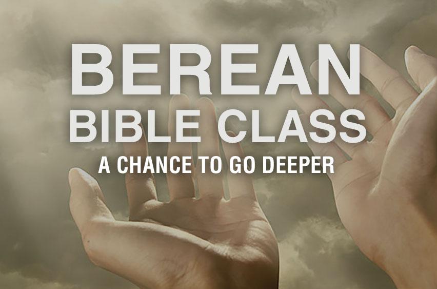 Berean Class