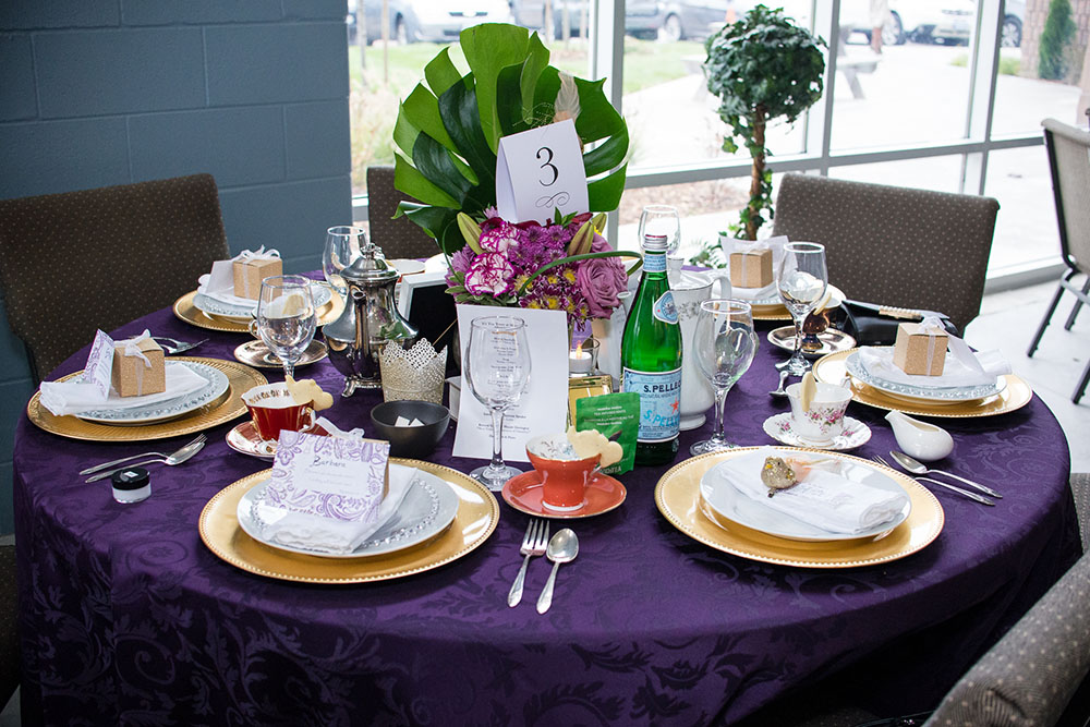Photos from the High Tea event